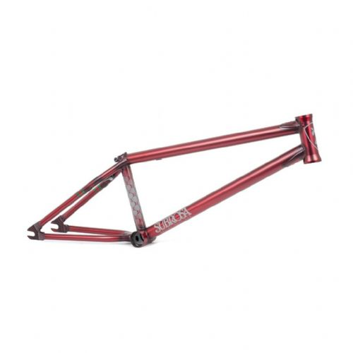 Subrosa MR1 Frame - Satin Trans Red 21""